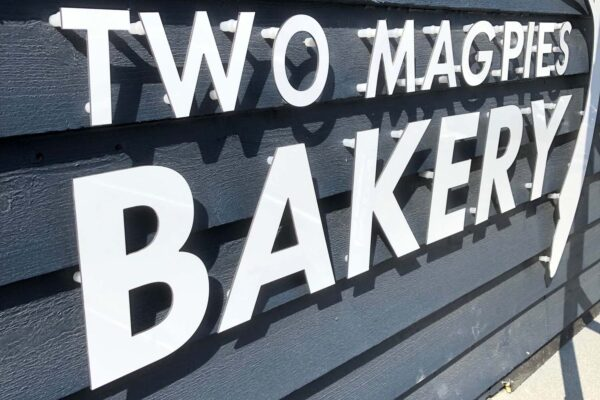 Custom Shop Front Signs | Bakery | Leiston Press