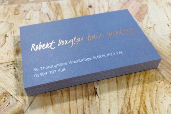 Business Card Printing | Robert Douglas | Leiston Press