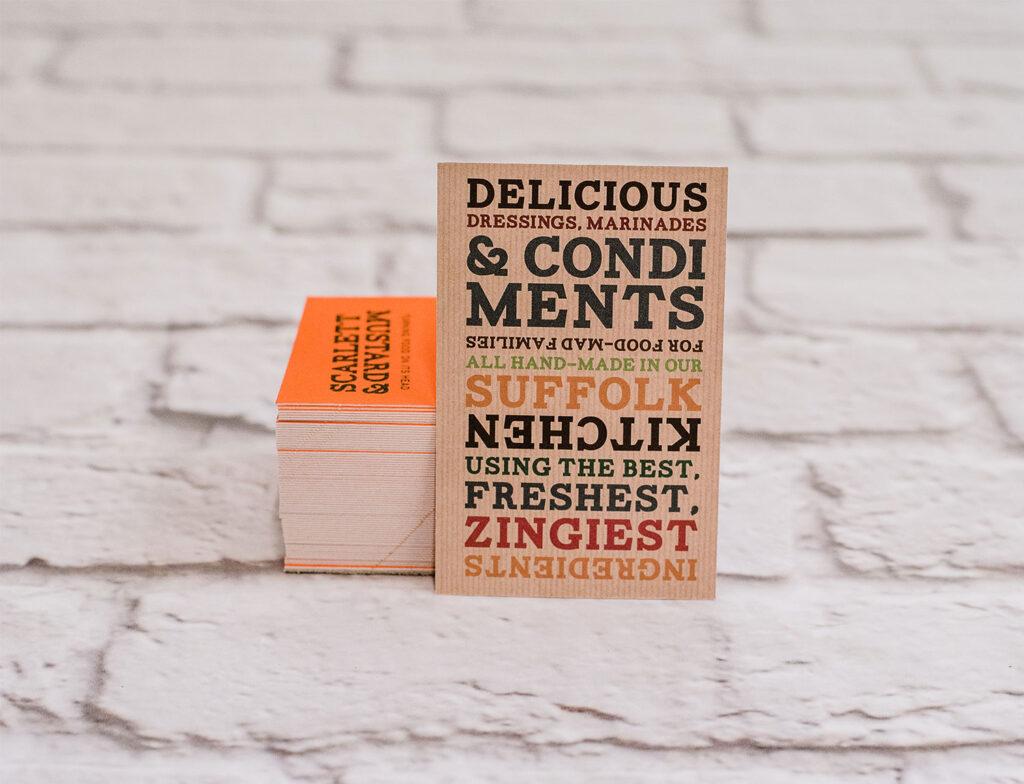 Business Card Printing | Leiston Press