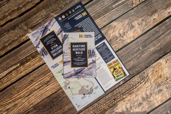 Brochure Printing & Design | Maritime Heritage Walk | Leiston Press