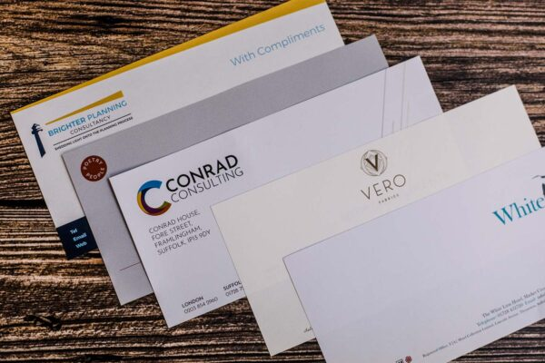Business Stationery Printing | Branded Envelopes | Leiston Press