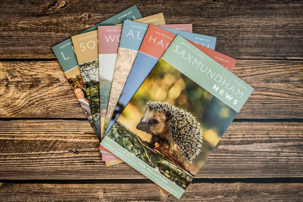 Brochure Printing & Design | Tide Collection | Leiston Press