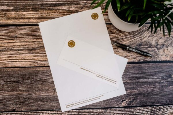 Business Stationery Printing | Compliment Slips | Leiston Press