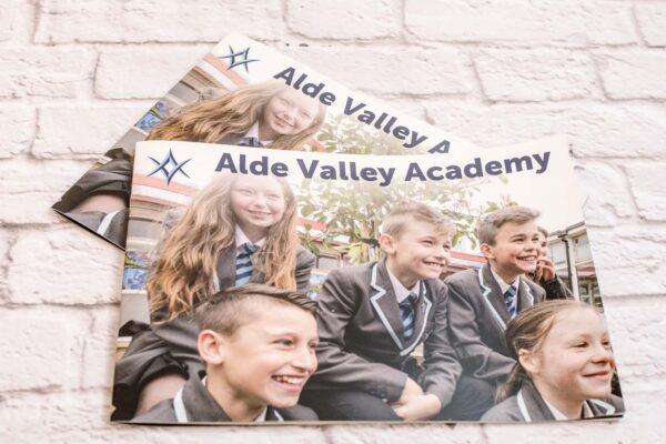 Brochure Printing & Design | Alde Valley Academy | Leiston Press